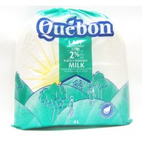 + Quebon milk 4l pouch - lowest price allowed