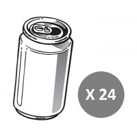+ Soft drink size: 24x 355ml cans