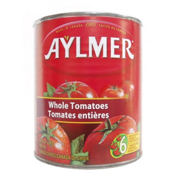 + Aylmer canned tomatoes 796ml
