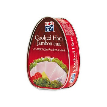 Maple leaf canned cooked ham 454g
