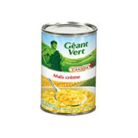 Green Giant canned cream style corn 398ml