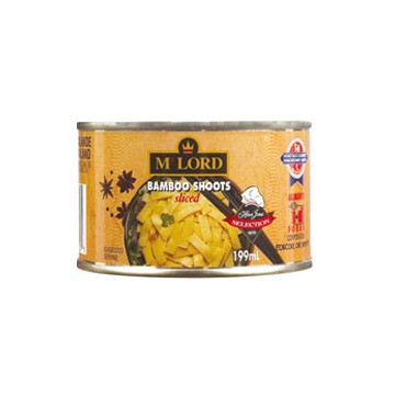 M'Lord sliced bamboo shoots 199ml