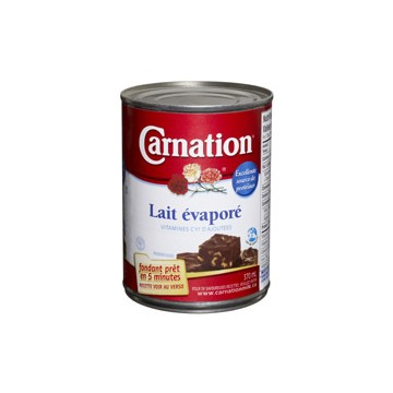 + Carnation evaporated milk 354ml