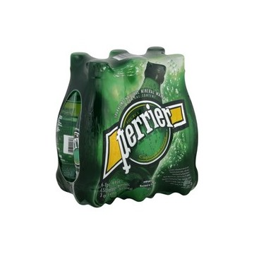 + Perrier carbonated spring water 6x 500ml