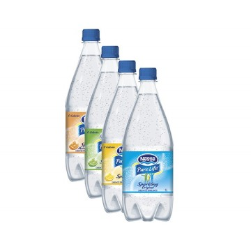 + Nestle Purelife carbonated spring water 1l