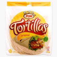 + Pom tortillas (10 large) 610g