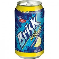 Brisk lemon iced tea 24x 355ml cans