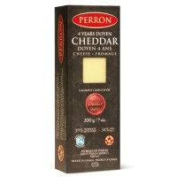 Fromage cheddar Perron vielli 4 ans 170g