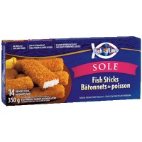 + Bâtonnets de poisson (14) High Liner 350g
