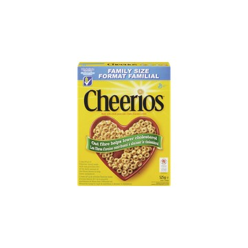 + General Mills Cheerios cereals 525g-720g (family size)