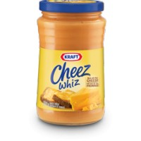 + Kraft Cheez Whiz cheese spread 450g