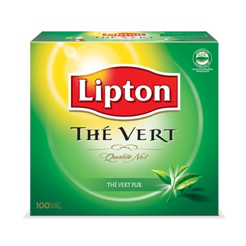 Lipton green tea bags (100) 200g