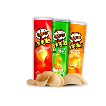 + Pringles potato chips 139g-187g
