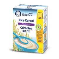 + Gerber infant cereals (just add water) 227g