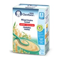 + Gerber 6 months baby cereals (just add water) 227g