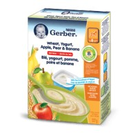 + Gerber 8 months baby cereals (just add water) 227g