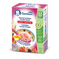 + Gerber 12 months baby cereals (just add water) 227g