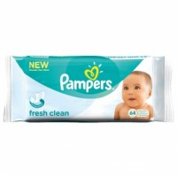+ Pampers baby wipes (64)