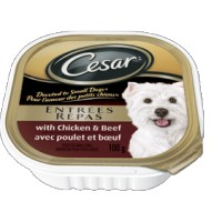 + Cesar small dog food 100g