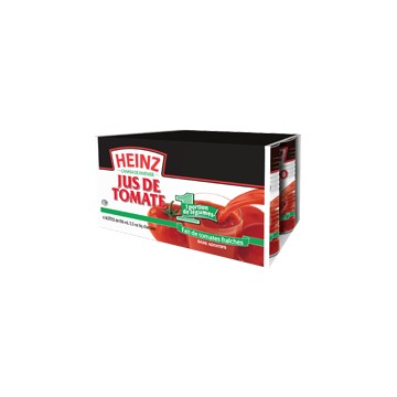 Heinz tomato juice 6x 156ml can