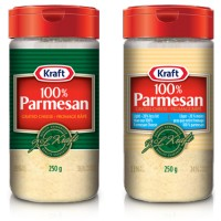 + Kraft grated parmesan cheese 250g
