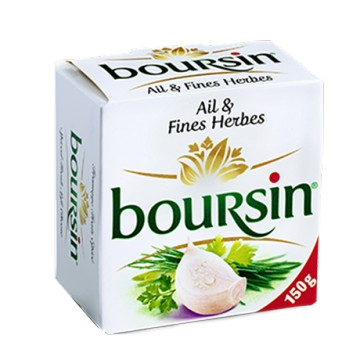 + Boursin cream cheese 150g