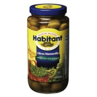 Habitant manzanilla olives 375ml