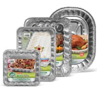 Eco Foil aluminum cookie pans (2)
