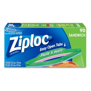 Ziploc sandwich bag (90)