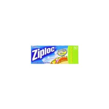 Ziploc sandwich bag (50)