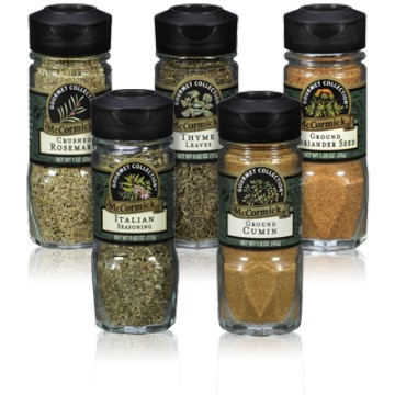 + McCormick spices (different sizes & prices)