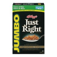 Céréales Just Right de Kellogg's jumbo 935g (jumbo)