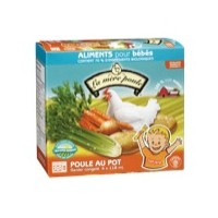 + Mother Hen organic vege puree 6x 59ml