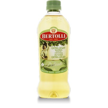 Bertolli extra-light olive oil 1l