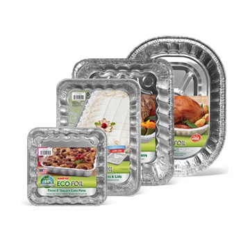 Eco Foil aluminum pot pie pans 8.75in (6)