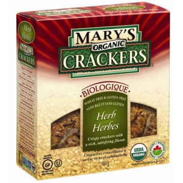 + Mary's organic crackers 184g