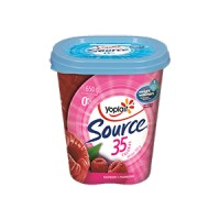 + Yogourt source 0% m.g. Yoplait 650g