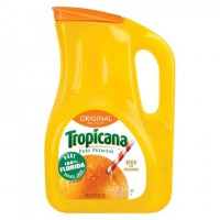 + Tropicana orange juice 2.63l