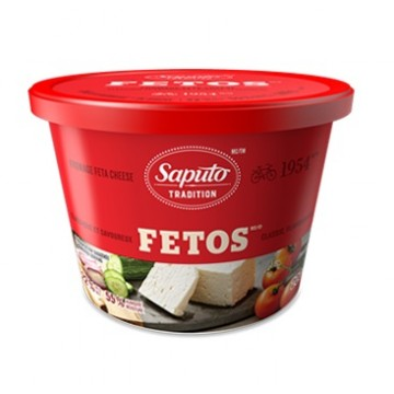+ Saputo feta cheese 170g-200g