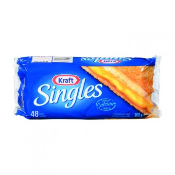 + Kraft Singles sliced cheese 900g