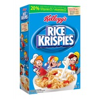 + Kellogg's Rice Krispies cereals 395g-440g