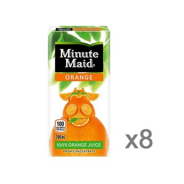 + Jus Minute Maid paquet 8x 200ml