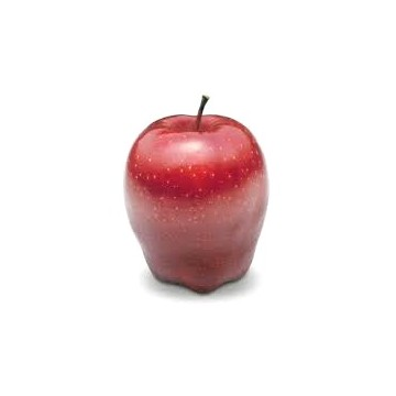Red delicious apple (one)